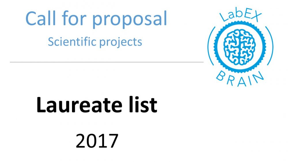 Results call for proposal  scientific project
